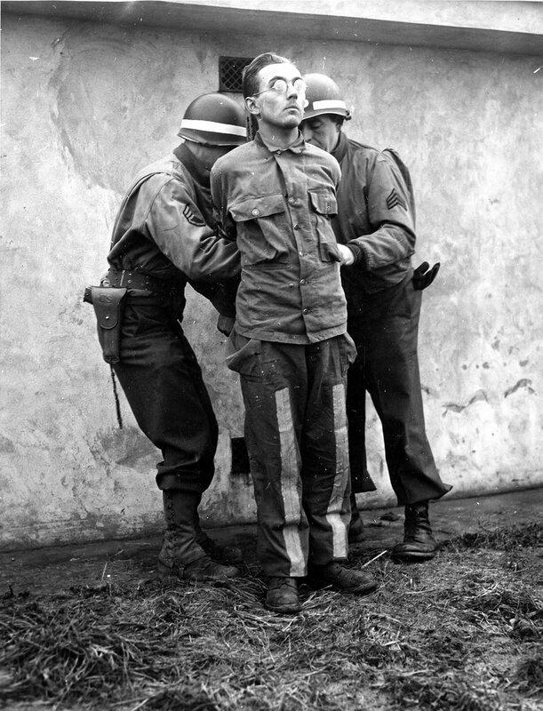 Минуты перед казнью. Бельгия. 23 декабря 1944 года