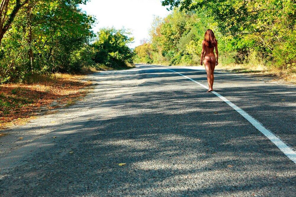 секс в дороге фото